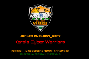 In a Beef with ABVP, 'Kerala Cyber Warriors' Hack University Website