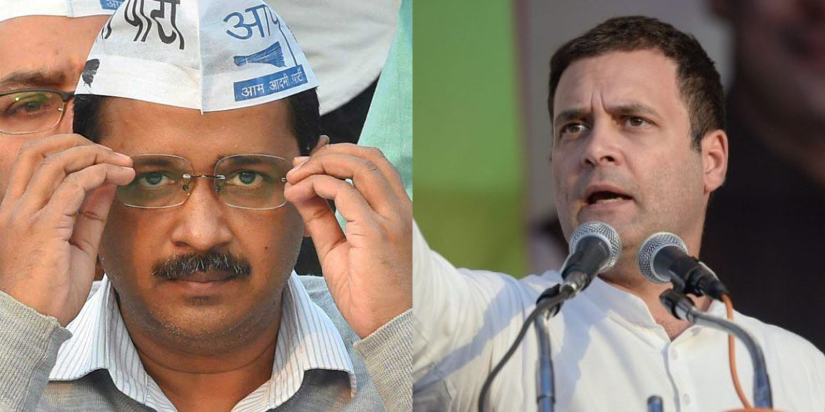 Congress Ends Speculation Over Alliance With AAP as It Fields Its Candidates