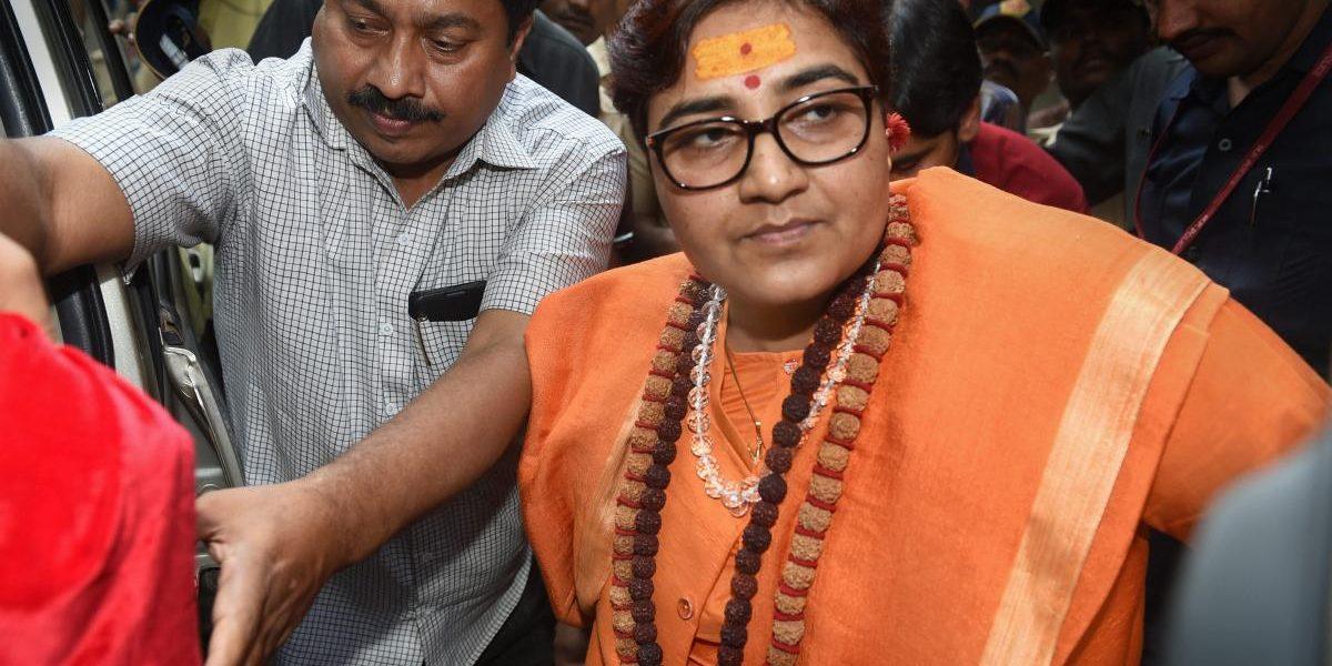 Sadhvi Pragya Apologises for Her Remarks About Hemant Karkare