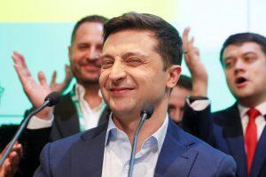 Ukraine: Exit Polls Show Comedian Zelenskiy Set to Become President