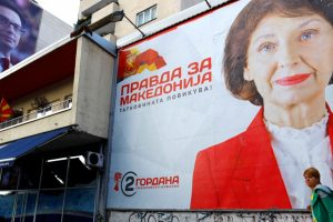 Macedonia's Name Change Dispute Dominates Presidential Elections
