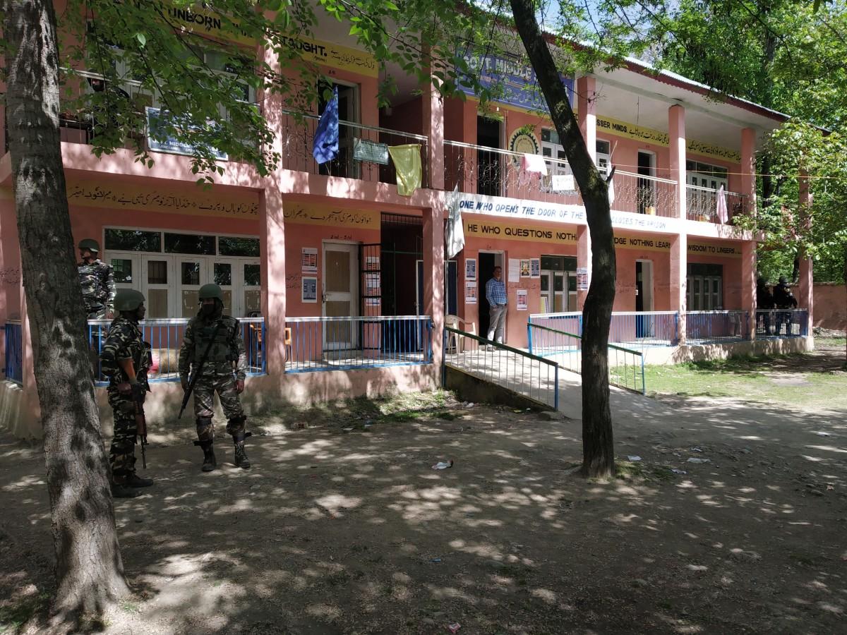 Kashmir polling, 2019 Lok Sabha Elections, Jammu and Kashmir, Srinagar voting, Anantnag polls