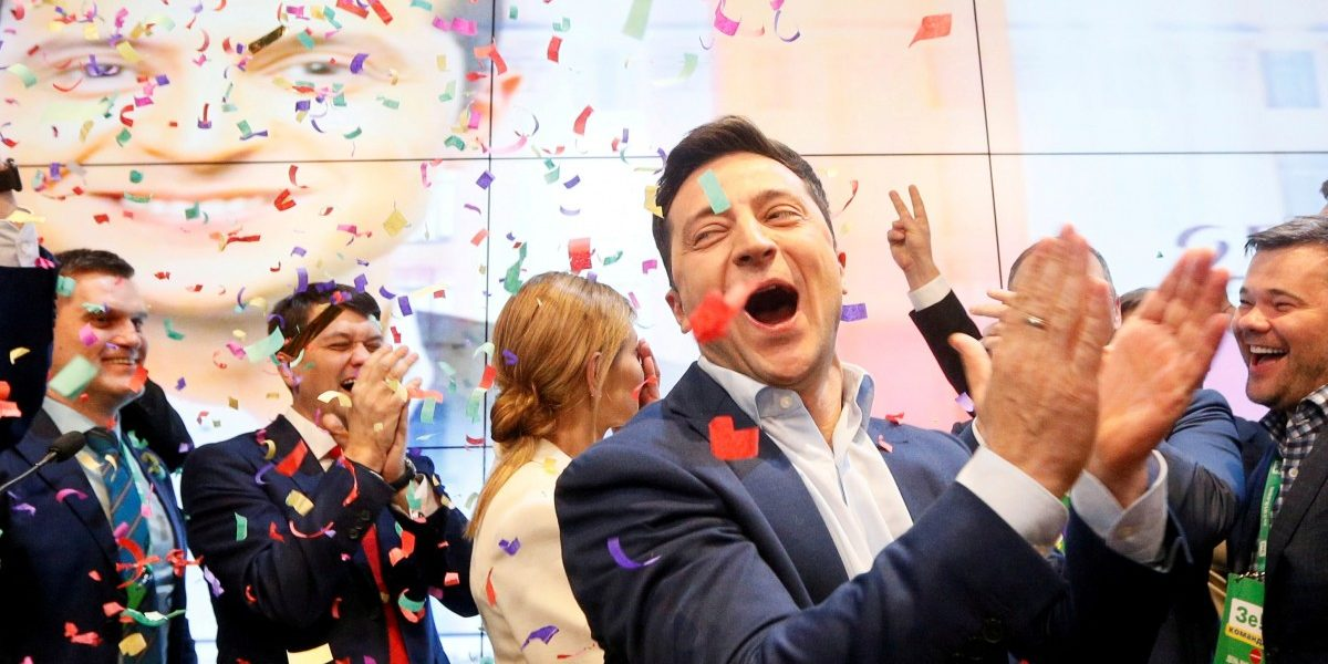 TV comedian Zelenskiy sworn in as Ukraine's president