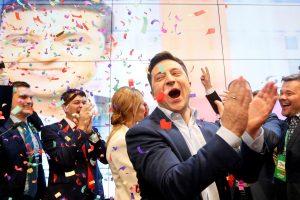 Ukraine's President Zelenskiy Disbands Parliament on Inauguration Day