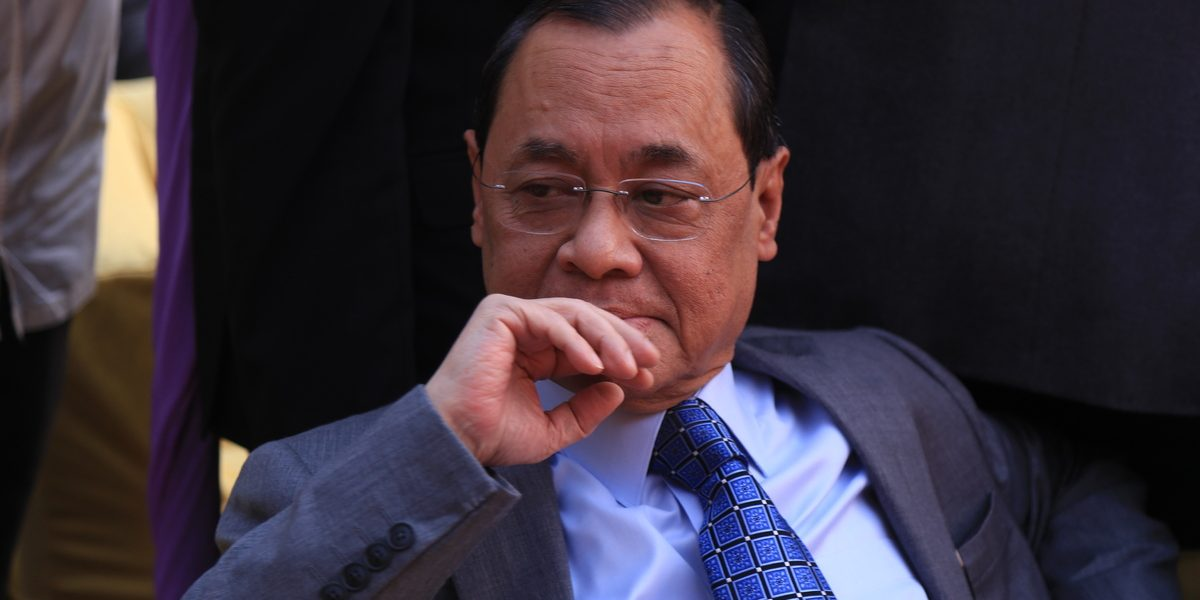 The Troubling Legacy of Chief Justice Ranjan Gogoi