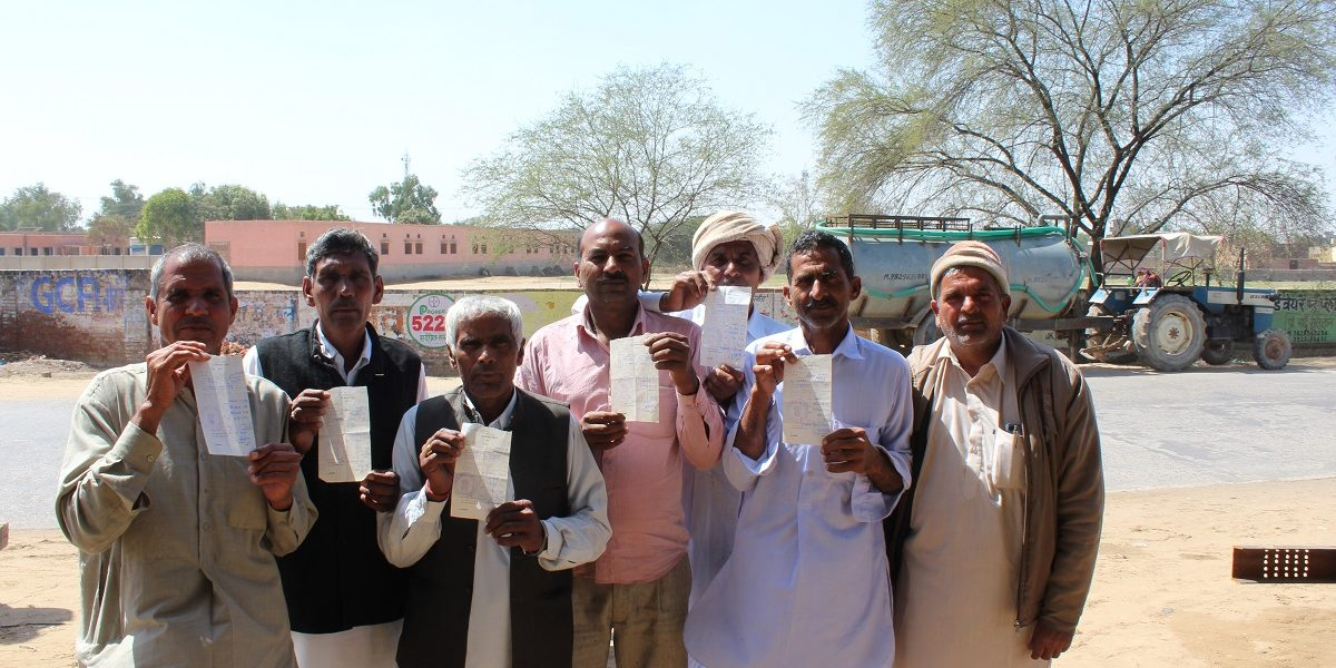 Farmers in Rajasthan to Vote Against Land Auction Notices and Irrigation Charges