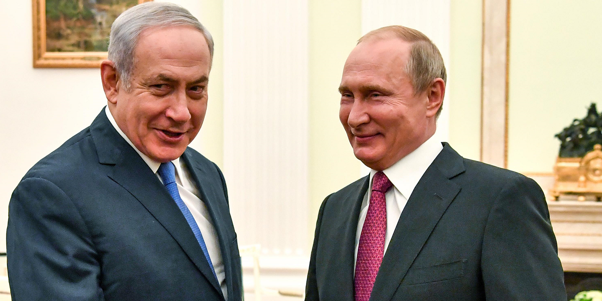 Putin Walks Tightrope Between Israel and Iran