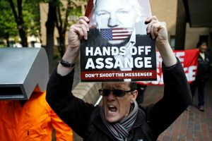 Julian Assange Sentenced to 50 Weeks in Jail For Skipping Bail By London Court