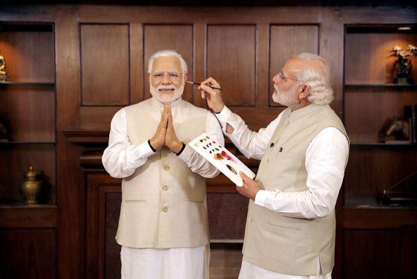 Modi Battling for Modi