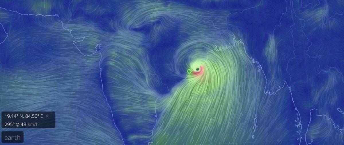 Cyclone Fani Makes Landfall on Odisha Coast
