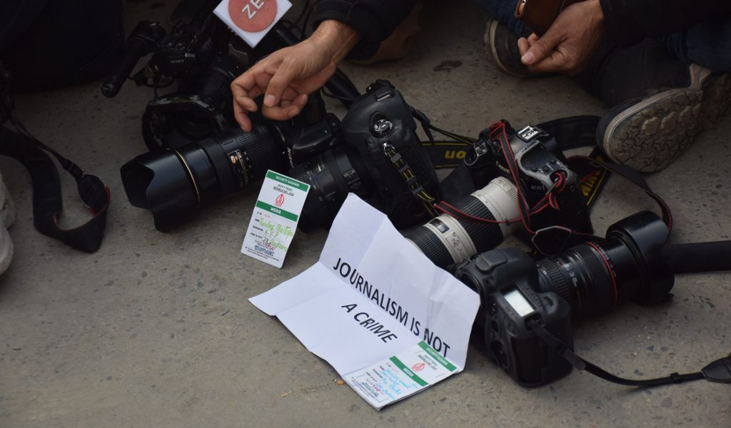 'Media Operating in Appalling Conditions': Kashmir Journalists Express Concern over Policing