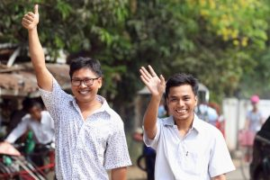 Reuters Reporters Jailed in Myanmar Released After 500 Days in Prison