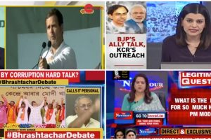#PrimetimeWatch: Channels Discuss Modi's Attack on Rajiv, Stay off Clean Chit to CJI