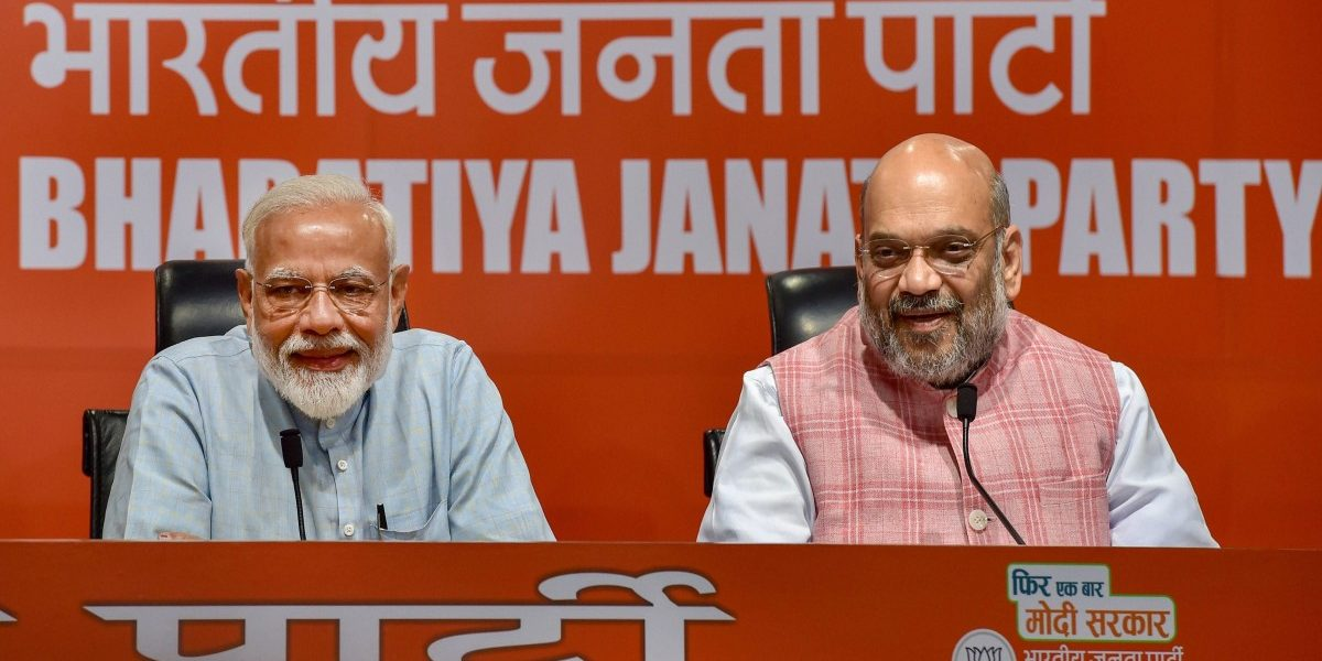 Narendra Modi 'Attends' First-Ever Press Conference as PM, but Takes No Questions