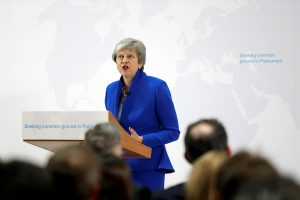 May to Ask Lawmakers to Vote on a Second Brexit Referendum
