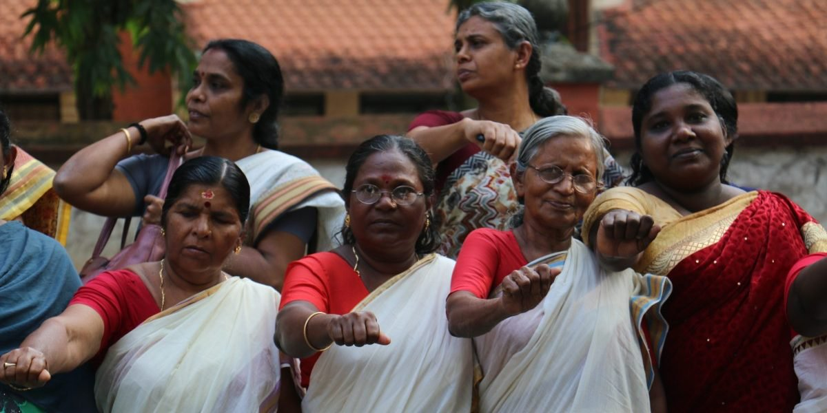Millions in Kerala formed a 620-km-long Women's Wall
