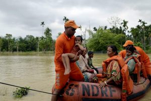Over 700 People Forced Into Relief Camps After Heavy Rain in Tripura