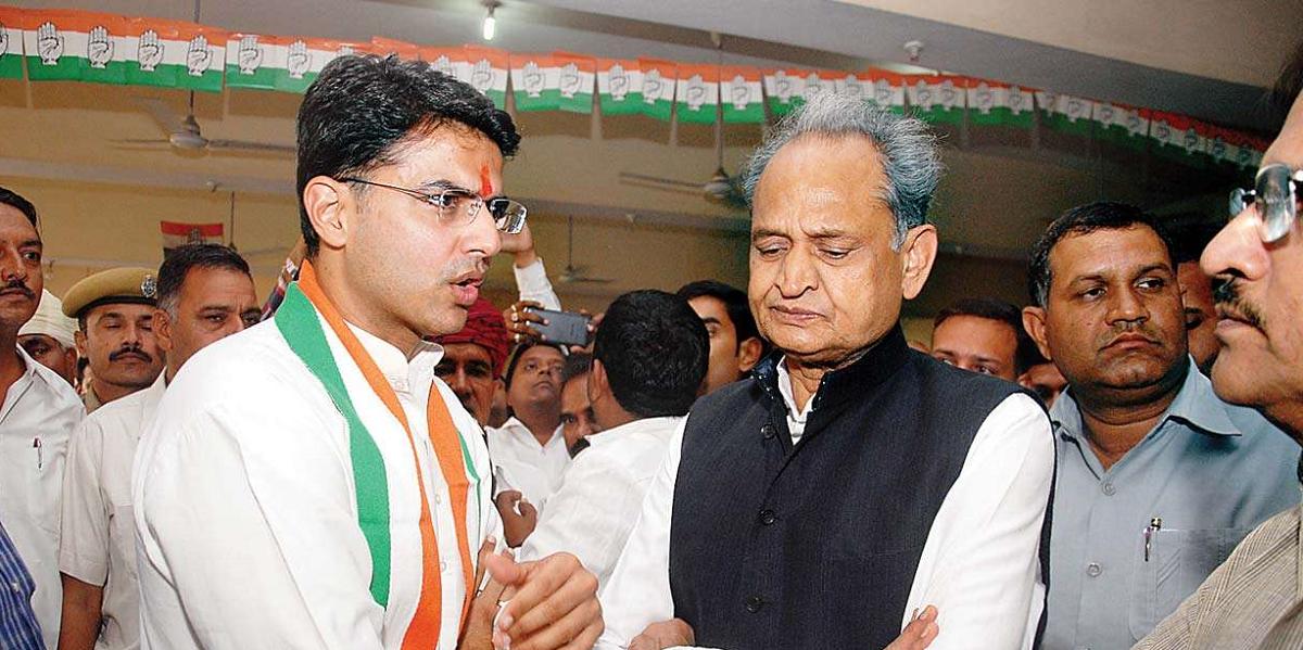Ashok Gehlot Says Sachin Pilot Should Take Responsibility for His Son's Defeat