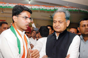 Ashok Gehlot Says Sachin Pilot Should Take Responsibility for His Son's Defeat