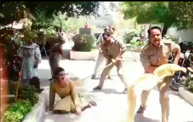 UP Police Lathi Charge Transgender Persons Inside Station Premises in Meerut