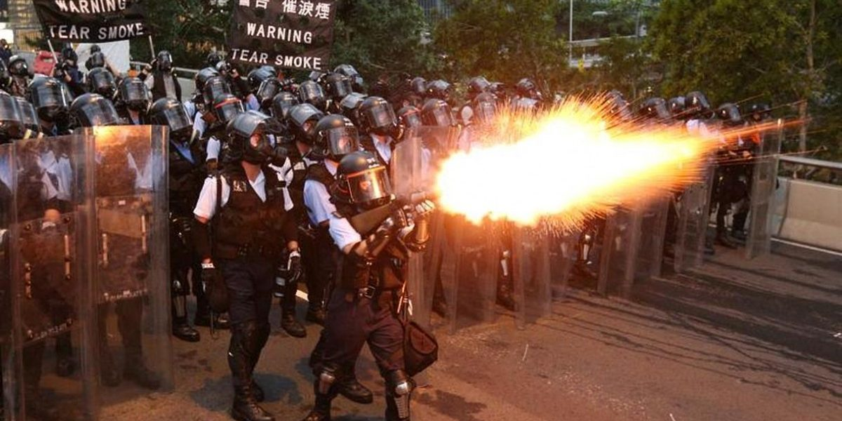 China State Media Blames Hong Kong Protests on 'Lawlessness'