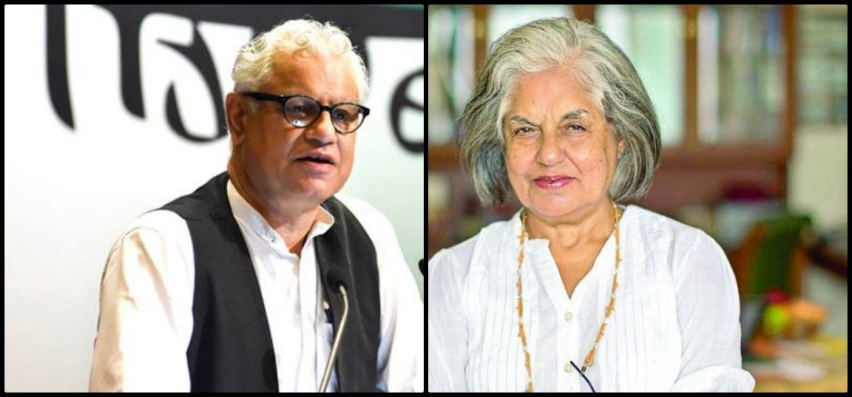 Image result for Civil Society and Liberals rally behind Indira Jaising and Anand Grover