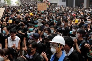 In Hong Kong, Protestors Disperse After Blockading Police Headquarters