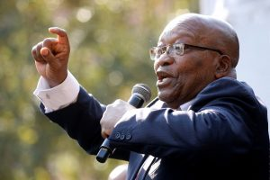 'A Conspiracy Against Me,' South Africa's Zuma Tells Corruption Inquiry