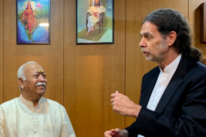 The Cruel Irony of the German Ambassador's Visit to the RSS Headquarters