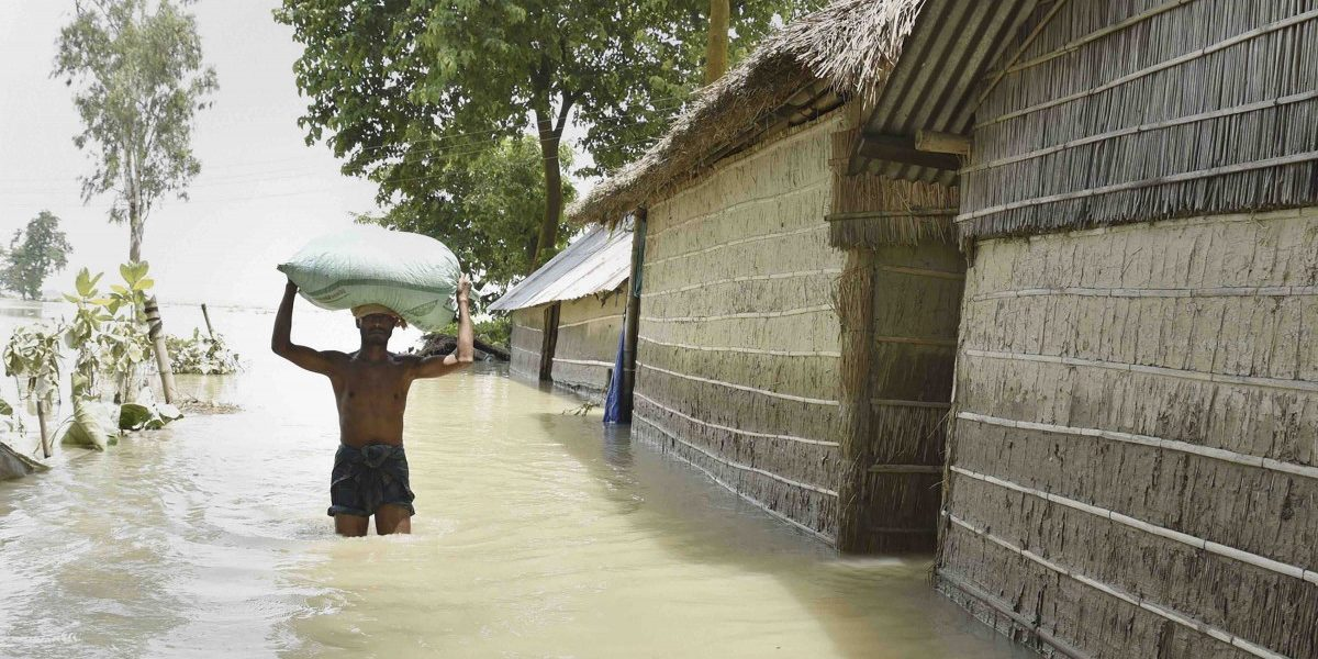 Death Toll Reaches 166 as Floods Continue to Wreak Havoc in Bihar and Assam