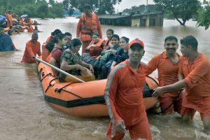 As Rains Lash Mumbai, NDRF and Navy Rescue Over 1,000 Stranded Rail Passengers