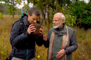 From Discovery, a Glimpse of What Modi Was Doing on the Day of Pulwama