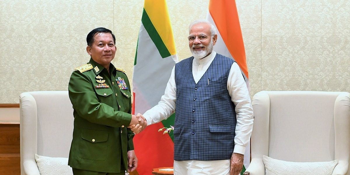 After US Imposes Travel Sanctions, Myanmar's Top General Meets PM During 10-Day Visit