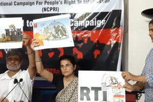 Centre Asked LS Speaker, RS Chairman Not to Refer RTI Amendment Bill to Standing Committee