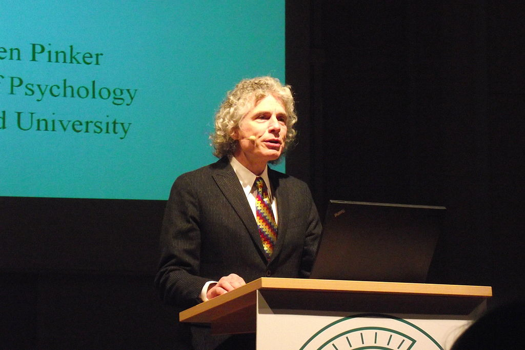 Steven Pinker, October 2010. Photo: G ambrus/Wikimedia Commons, CC BY 3.0
