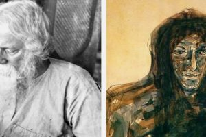 Rabindranath Tagore's Paintings Reveal His Quest For The World Beyond Words