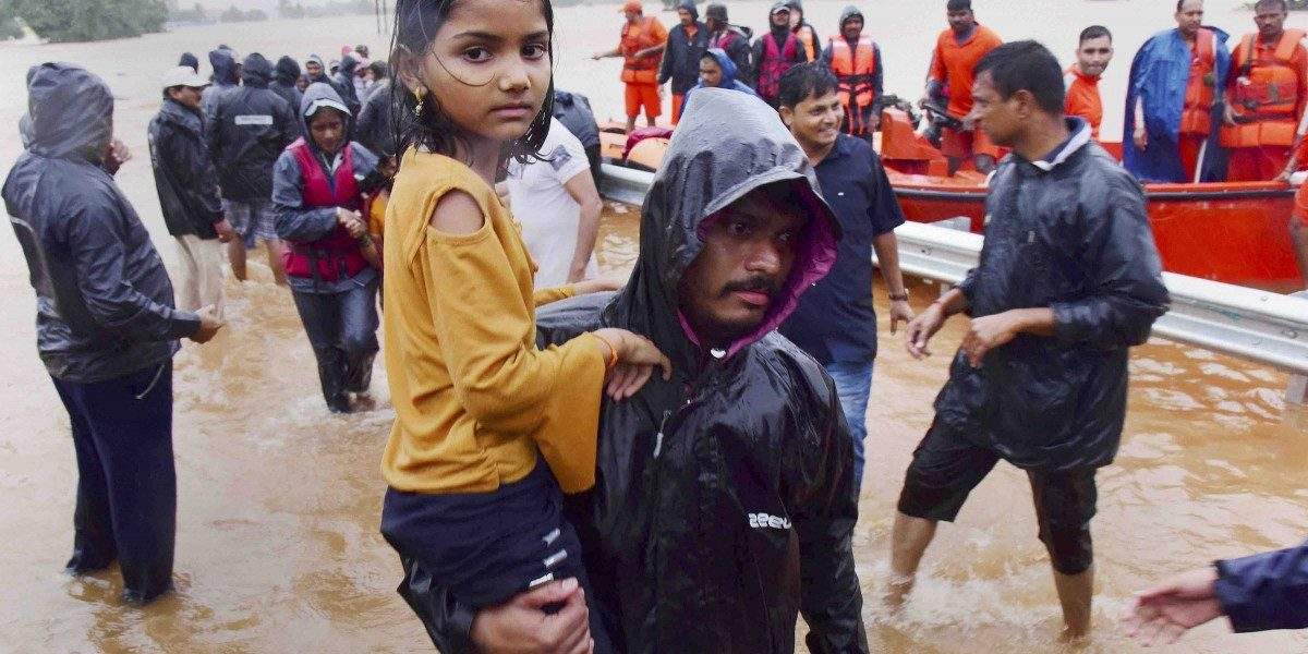 Maharashtra Floods: Water Receding in Kolhapur and Sangli, Relief Works Continue