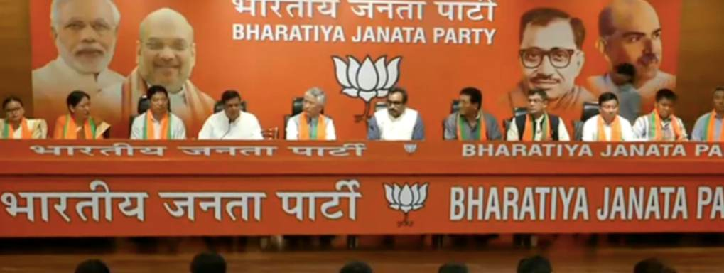 BJP 'Takes' 10 MLAs From Ally SDF, Becomes Main Opposition in Sikkim