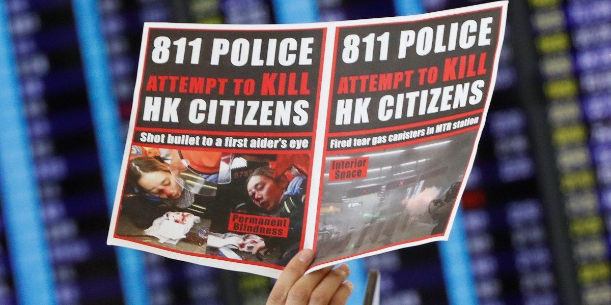 Hong Kong Airport Halts Check-Ins as UN Urges Restraint Over Protests