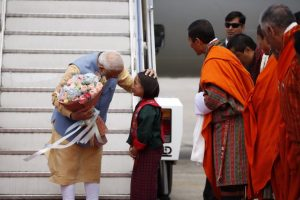 Red Carpet Welcome For Modi in Bhutan on Two-Day Visit; 10 MoUs Signed