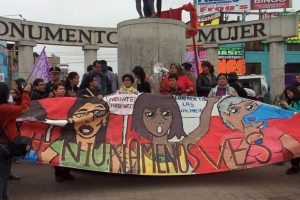 Peru: Protestors March to Denounce Violence Against Women