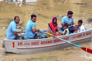 Water Level Recedes, Yamuna Below Danger Mark