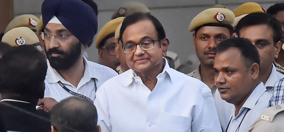 INX Media Case: P. Chidambaram Sent to CBI Custody Until August 26