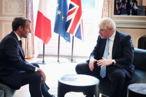 Too Late for New Brexit Deal, France's Macron Tells Boris Johnson