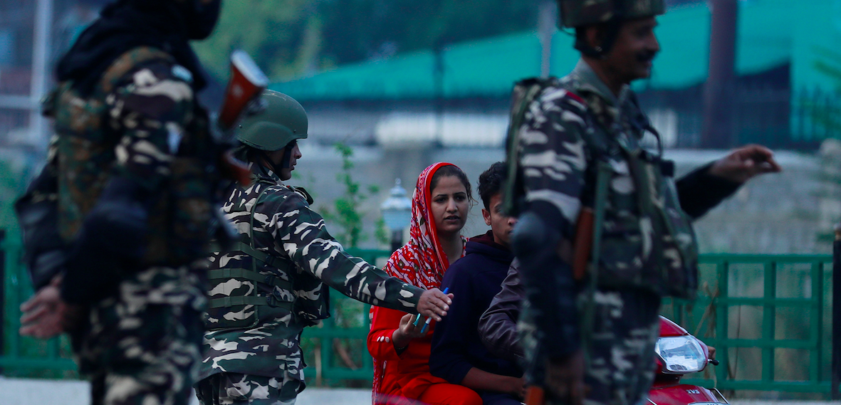Kashmir Restrictions Heightened Ahead of Separatists' Call for Protests