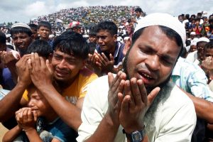 Rohingya Refugees Demand Justice at Myanmar World Court Case