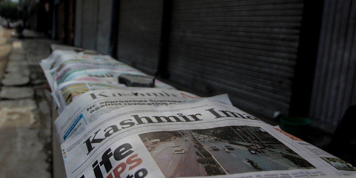 Kashmir Press Club Says Journalists Being 'Coerced', Demands Lifting of Blockade