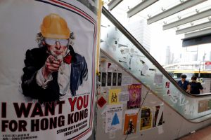 Hong Kong Braces For Weekend Protests, Merkel Appeals For Peaceful Solution