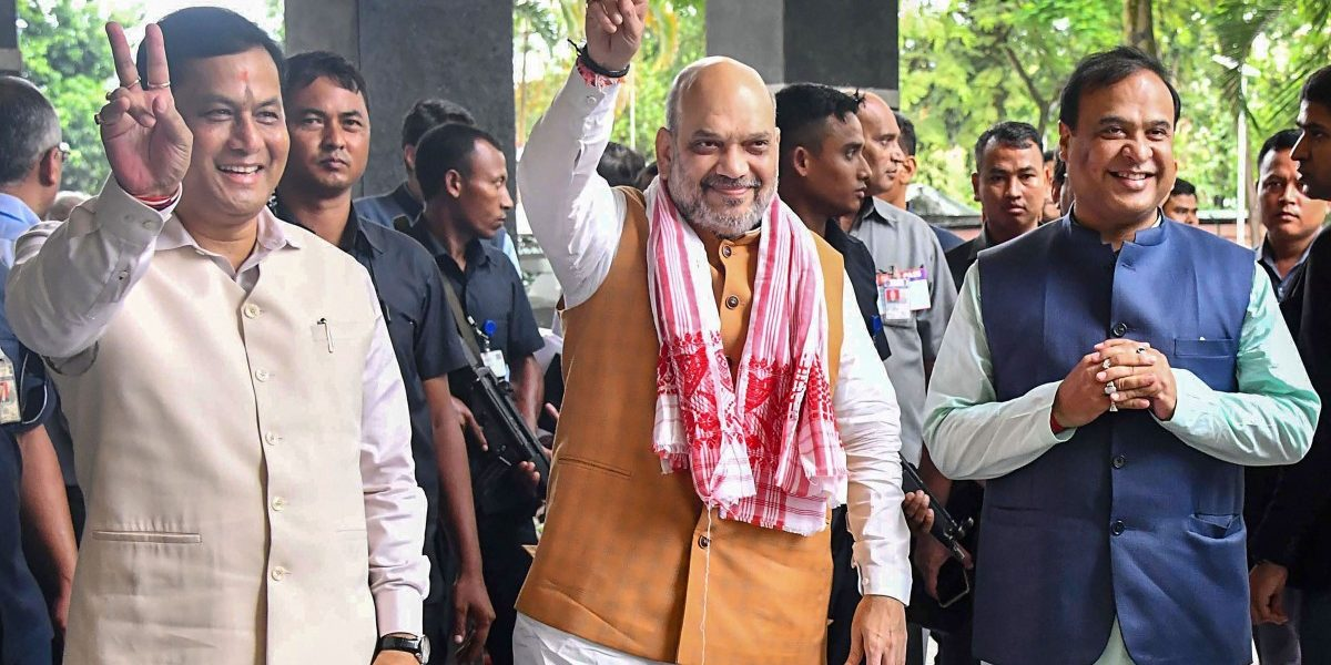 Won't Allow a Single Illegal Immigrant in India, Says Amit Shah in Assam