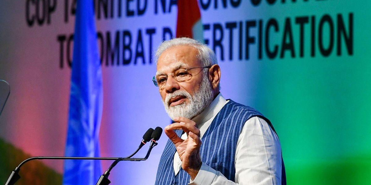 Narendra Modi Announces Increase in India's Land Restoration Target at UN Conference